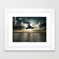 Eclipsed Framed Art Print