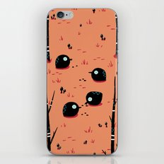 Black Birds in the Forest iPhone & iPod Skin
