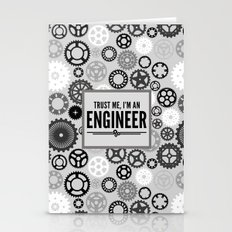 Trust Me Engineer Quote Stationery Cards