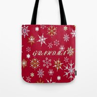 To Grandma At Christmas … Tote Bag