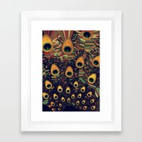 visual melody 3 Framed Art Print