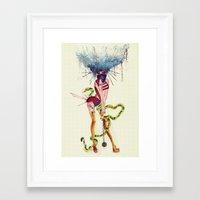 Electra Framed Art Print