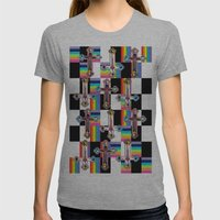 Jesus Is The New Pattern Womens Fitted Tee Athletic Grey SMALL