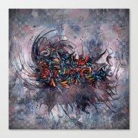 Abstract Wash 3 Canvas Print