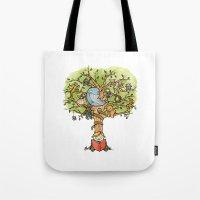 StoryTime Tree Tote Bag