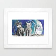 kittens Framed Art Print