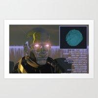 <EXIT B… Art Print