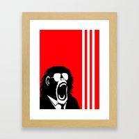 Ape Einstein   Framed Art Print