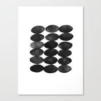 Ovals Canvas Print