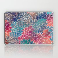 Floral Abstract 8 Laptop & iPad Skin
