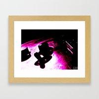 Voodoo Guitar Framed Art Print