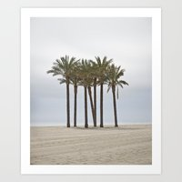 Palm Trees Art Print