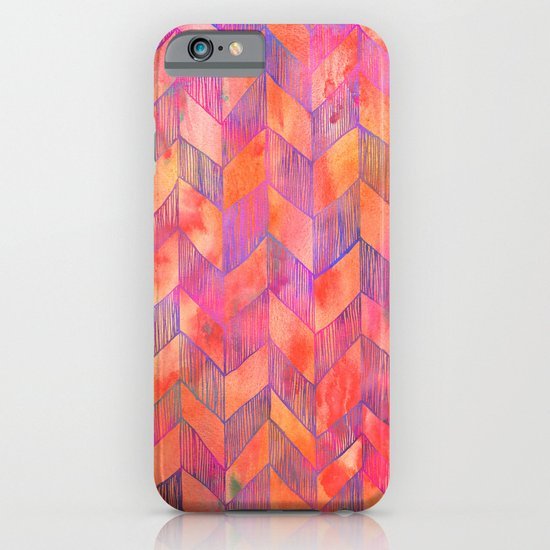 PATTERN {Chevron 012} iPhone & iPod Case