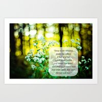The Hunger Games Rue's Lullaby  Art Print