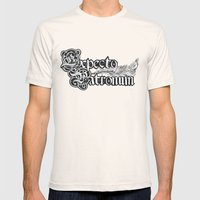 Expecto Patronum Harry P Mens Fitted Tee Natural SMALL