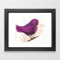 Dollar Store Dove Framed Art Print