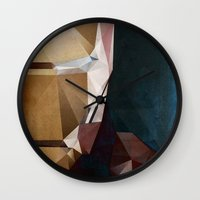 Iron Man Profile Wall Clock