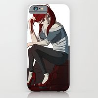 iPhone & iPod Case featuring Bored. by Miric
