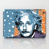 Blue Einstein iPad Case