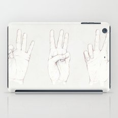 Three Threes iPad Case