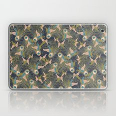 Peacock Feathers and Art Deco Print Laptop & iPad Skin