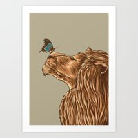 Gentle Man Art Print