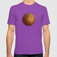 Paving Stone Gold Mens Fitted Tee Ultraviolet SMALL