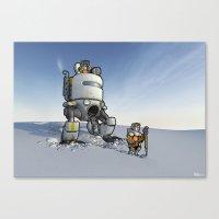Explorers II Canvas Print