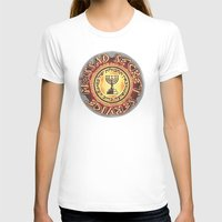 MOSSAD - 039 Womens Fitted Tee White SMALL