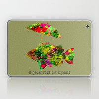 Art Fish Color Laptop & iPad Skin