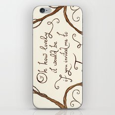 Oh How Lovely it Would Be iPhone & iPod Skin