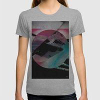 New Horizons Womens Fitted Tee Athletic Grey SMALL