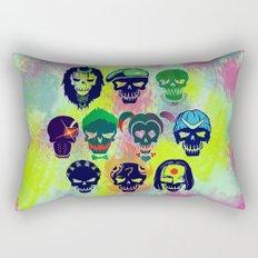 Suicide Skulls Rectangular Pillow