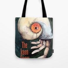 The keen finger Tote Bag