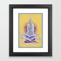Guardian of the First Dimension Framed Art Print
