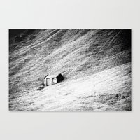 Hut Canvas Print