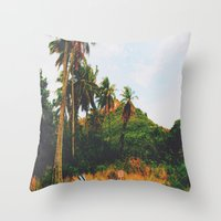 Maui- Paradise Throw Pillow