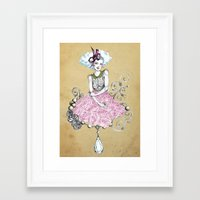 Delirose Framed Art Print