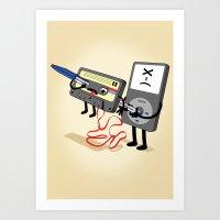 Killer Ipod Clipart (Mur… Art Print