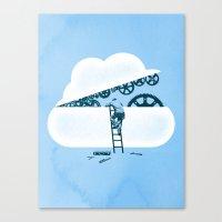 Tune Up Canvas Print