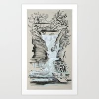 Local Gem # 5 - Lick Brook Art Print