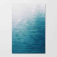 Lake Abstract Canvas Print