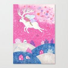 Flower Shower Canvas Print