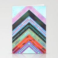 Adele Chevron {1B} Stationery Cards
