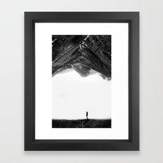 Lost in isolation Framed Art Print