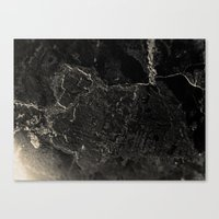 In·dis·tinct Canvas Print