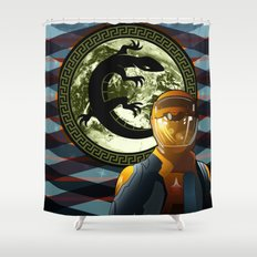 Ender's Game Shower Curtain