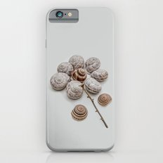 Playful snails, morning people Slim Case iPhone 6s