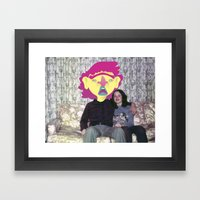 Couch Tater Framed Art Print