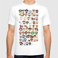 Classics 53 Mens Fitted Tee White SMALL